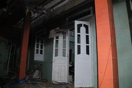 Thu giữ đoạn dây cháy chậm trong vụ nổ ở Phú Quý - ảnh 1