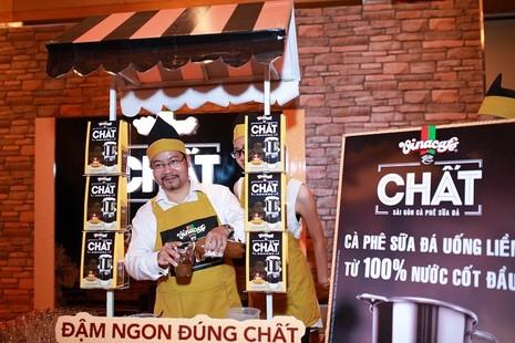 """Ra mắt thương hiệu """"Vinacafe1 Chất - Sài Gòn cà phê sữa đá"""" - ảnh 1"""