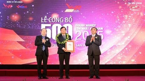 Sacombank tiếp tục vào Top 10 DN lớn nhất Việt Nam - ảnh 1
