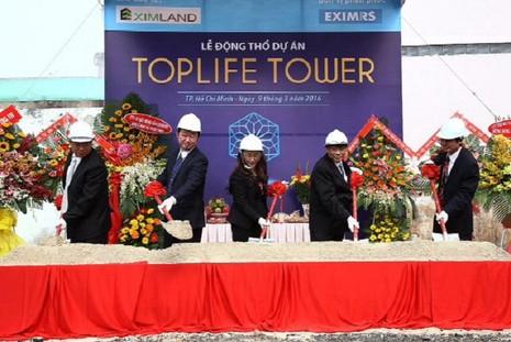 Ra mắt dự án cao cấp TopLife Tower - ảnh 1