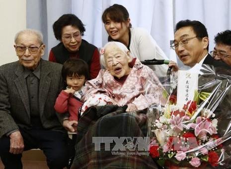 Người cao tuổi nhất thế giới qua đời - ảnh 1