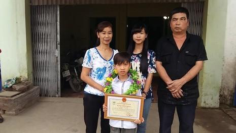 Đức Vĩnh và gia đình