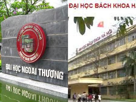 đại học, Ngoại thương, Bách khoa, Hà Nội, hiệu trưởng