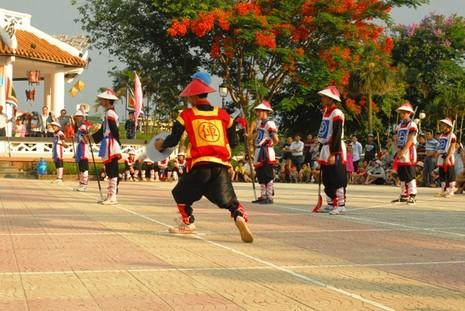 Độc đáo cờ người xứ Huế - ảnh 7