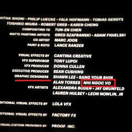 """Nhi góp mặt trong danh sách những người thiết kế đồ họa cho """"Fast and Furious 7"""""""