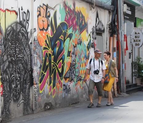 Ấn tượng Graffiti giữa Sài Gòn - ảnh 7