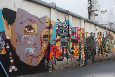 Ấn tượng Graffiti giữa Sài Gòn - ảnh 5