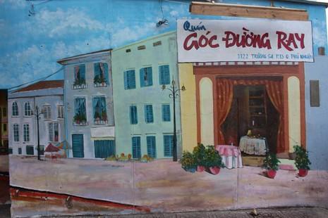 Ấn tượng Graffiti giữa Sài Gòn - ảnh 1