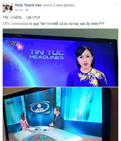 MC, Thanh Vân, VTV, Thời sự