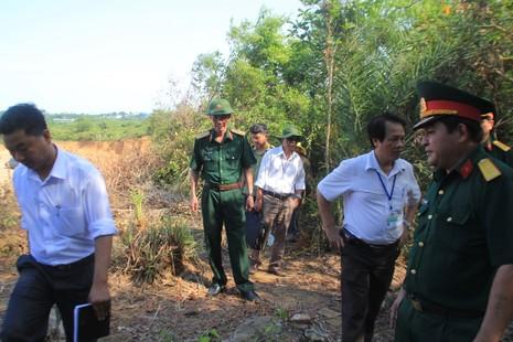 Vụ xúc 400 ngôi mộ: Quân khu 5 và TP Đà Nẵng vào cuộc xử lý  - ảnh 2