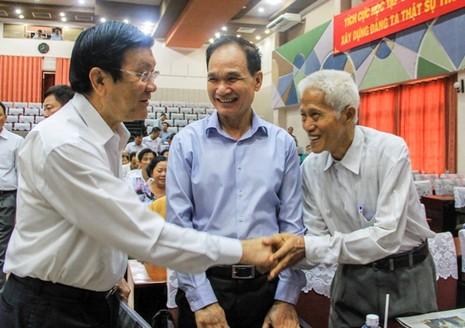 Chủ tịch nước nêu rõ phi lý của Trung Quốc biến đảo chìm thành đảo nổi - ảnh 1