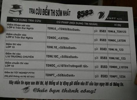 Trường THPT chuyên Trần Đại Nghĩa bắt đầu phát đơn dự tuyển vào lớp 6 - ảnh 6