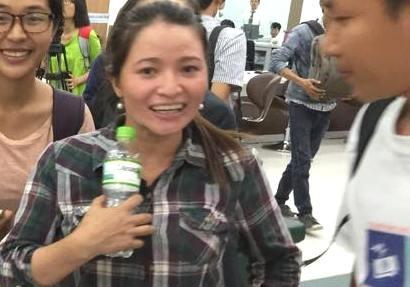Tin vui: Chị ve chai đã nhận được 5 triệu yen  - ảnh 22