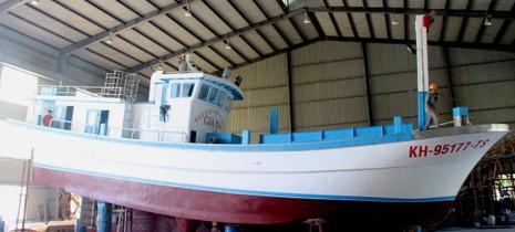 Hạ thủy tàu cá có tên lạ Nguyên Biển Đông Gia Bảo  - ảnh 3