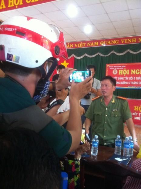 Công an tỉnh Bình Phước họp báo vụ thảm sát 6 người  - ảnh 1
