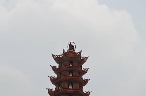 Ly kỳ giải cứu nam thanh niên 'ngáo đá' trên đỉnh tháp cao 11 tầng  - ảnh 1