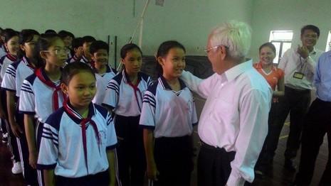 Khuyến khích đặt tên trường theo tên các Bà mẹ Việt Nam anh hùng - ảnh 1