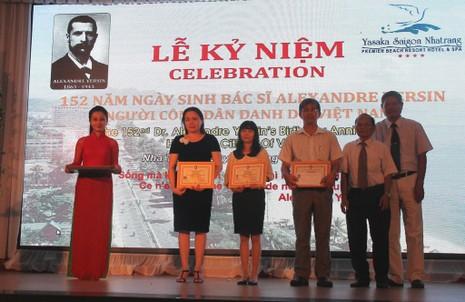 Ra mắt Giải thưởng Yersin nhân kỷ niệm 152 năm ngày sinh của ông - ảnh 1
