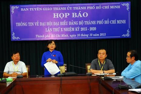 Ngày mai 17-10, công bố kết quả bầu cử BCH Đảng bộ TP.HCM khóa X - ảnh 1