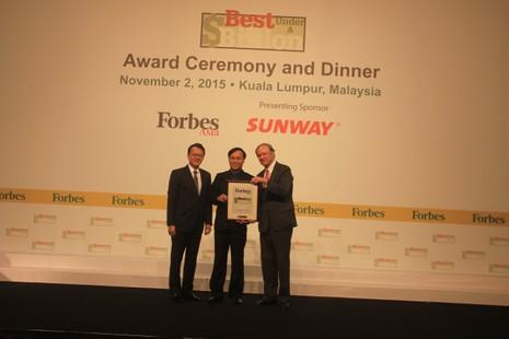 Điện Quang góp mặt trong Top 200 DN doanh thu dưới 1 tỷ USD tốt nhất Châu Á - ảnh 1