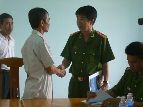 Ông Huỳnh Văn Nén chính thức được tự do  - ảnh 1