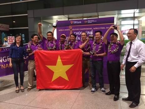 Lần đầu tiên đội tuyển Goft nghiệp dư Việt Nam thắng lớn tại giải thế giới  - ảnh 1
