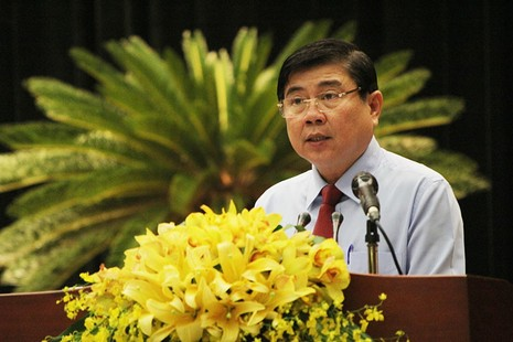 Tân chủ tịch TP.HCM hứa xử lý kẹt xe, ngập nước - ảnh 4