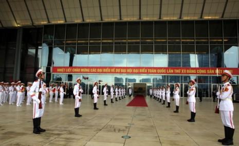 Tổng kiểm tra công tác phục vụ đại hội XII của Đảng  - ảnh 5