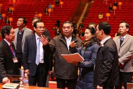 Tổng kiểm tra công tác phục vụ đại hội XII của Đảng  - ảnh 3
