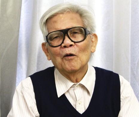 Giáo sư Đào Xuân Sâm - Ảnh: V.V.T.