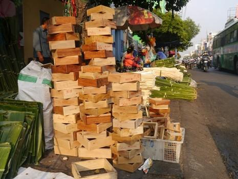 Độc đáo chợ lá dong giữa Sài Gòn - ảnh 6