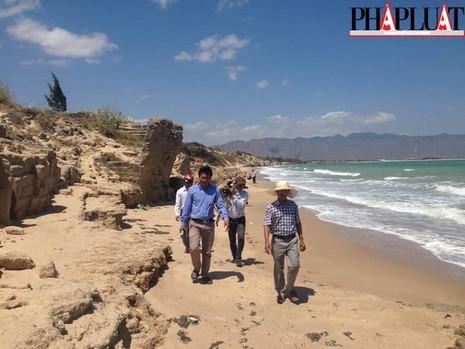 Nóng: Một người dân trình báo đã phát hiện 'kho báu núi Tàu' - ảnh 1