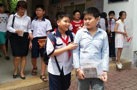 Ngày 23-6 công bố đáp án bài khảo sát vào Trường Trần Đại Nghĩa  - ảnh 1