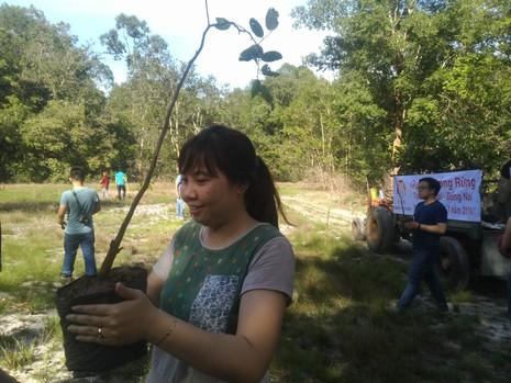 Đi picnic trồng cây gây rừng - ảnh 1