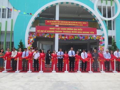 Thêm hai trường mầm non cho con em của công nhân tại khu chế xuất - ảnh 1