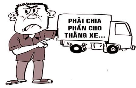 Chia phần ăn trộm cho chiếc... xe tải - ảnh 1