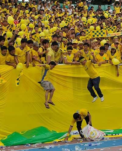 Trước vòng 9 V-League: Sông Lam chờ 'đại chiến' - ảnh 1