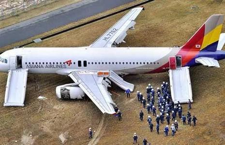 81 người trên máy bay Hàn Quốc thoát chết  - ảnh 1