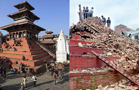 Động đất ở Nepal: Số người chết quá khủng khiếp! - ảnh 2