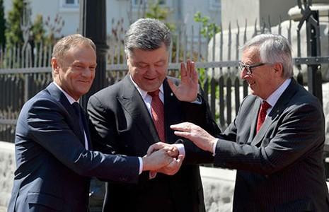 EU không đưa lực lượng gìn giữ hòa bình đến Ukraine - ảnh 1