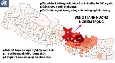 Nepal trong 'tình trạng chiến tranh' - ảnh 2