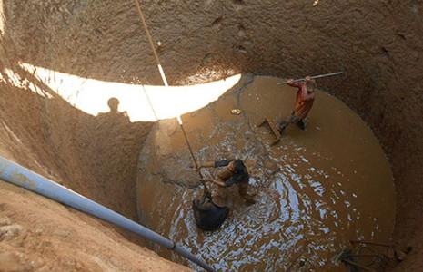 Dân Lý Sơn chi trăm triệu đồng đào giếng 'khủng' - ảnh 1