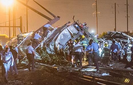 Tai nạn tàu hỏa nghiêm trọng ở Philadelphia - ảnh 1