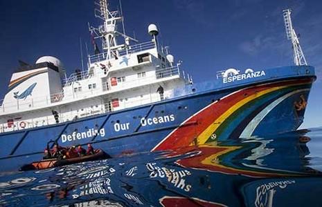 Tàu cá Trung Quốc đánh bắt trái phép ở Tây Phi  - ảnh 1