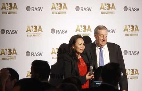 Bia Sài Gòn nhận giải thưởng quốc tế AIBA 2015 - ảnh 1