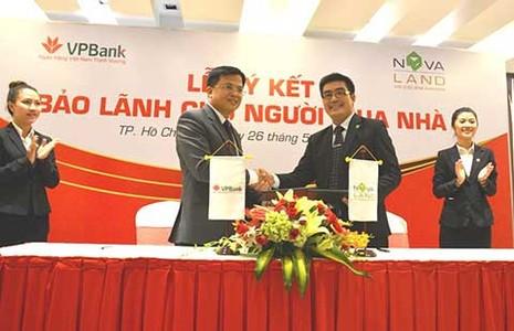 Chủ đầu tư nhờ ngân hàng bảo lãnh: Người mua nhà hưởng lợi - ảnh 1