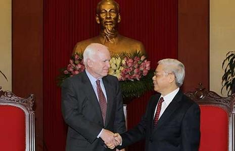Hoa Kỳ coi trọng quan hệ hợp tác với Việt Nam - ảnh 1