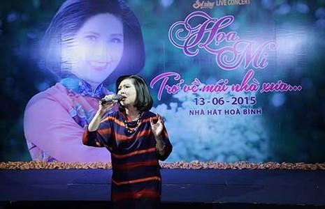 Họa Mi trở lại sân khấu ở tuổi 60 - ảnh 1