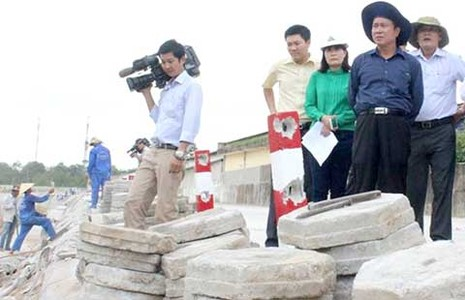 Chủ tịch tỉnh Bình Dương xem xét kênh Ba Bò  - ảnh 1