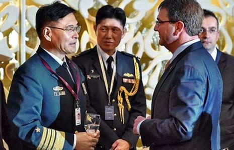 Đối thoại Shangri-La lần thứ 14: Đô đốc Tôn Kiến Quốc bao biện - ảnh 1